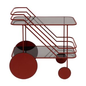 Come-As-You-Are-Bar-cart-table-red
