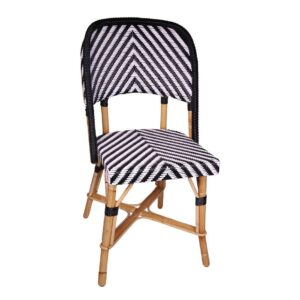Chambord-S-white-black-Rattan-Side-Chair-01